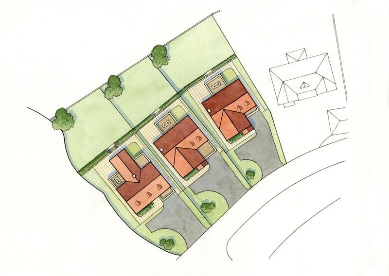 Oakwood bungalows, Oak Drive, Colwyn Bay