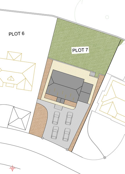 Oakwood, Oak Drive: Plot 7