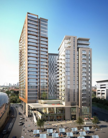 Tribeca Square redevelopment, Elephant & Castle