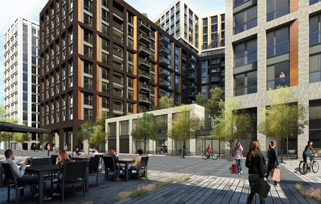 The Christies scheme will see Bellway deliver rental homes as well as affordable units and flats for sale