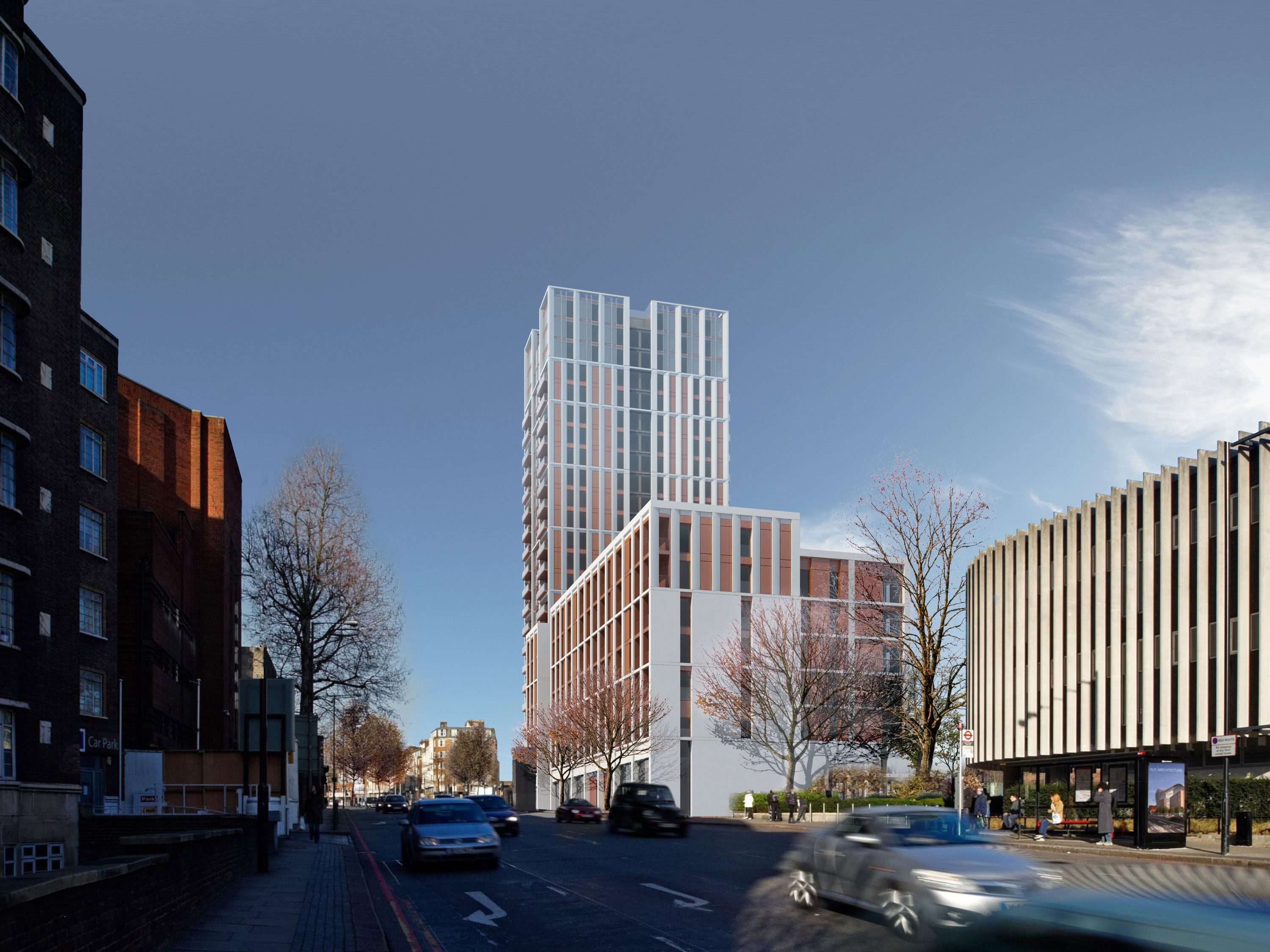 Essential Living's north London redevelopment site in Swiss Cottage