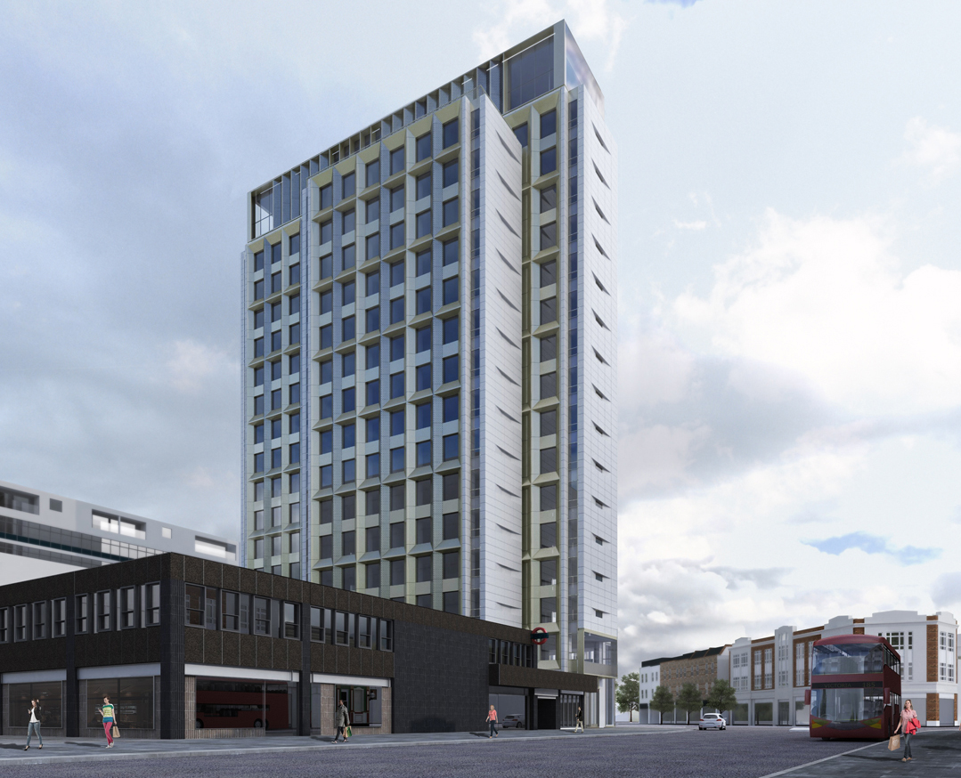 Reclad and resused - Archway Tower to be reborn as apartments